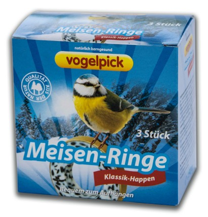 Meisen-Ringe zum Aufhängen kaufen im 3er Pack.