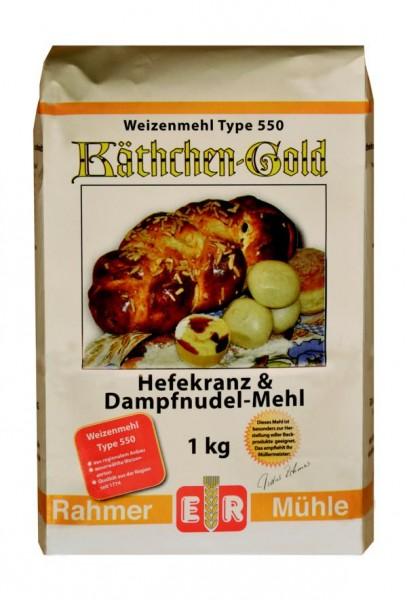Weizenmehl Type 550 kaufen im Onlineshop der Rahmer Mühle.