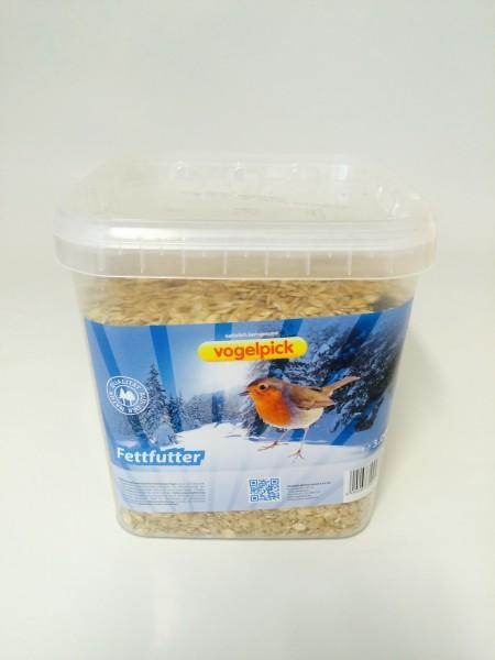 Fettfutter für Vögel im Eimer zu kaufen bei Rahmer Mühle.