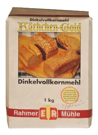 Dinkelvollkornmehl kaufen im Onlineshop der Rahmer Mühle.