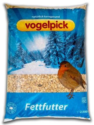 Fettfutter für Vögel in der 2,5 kg Packung im Onlineshop von Rahmer Mühle.