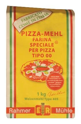 Pizzamehl Tipo 00 vom Onlineshop der Rahmer Mühle.