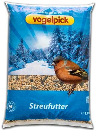 Streufutter für Vögel online zu kaufen bei Rahmer Mühle.