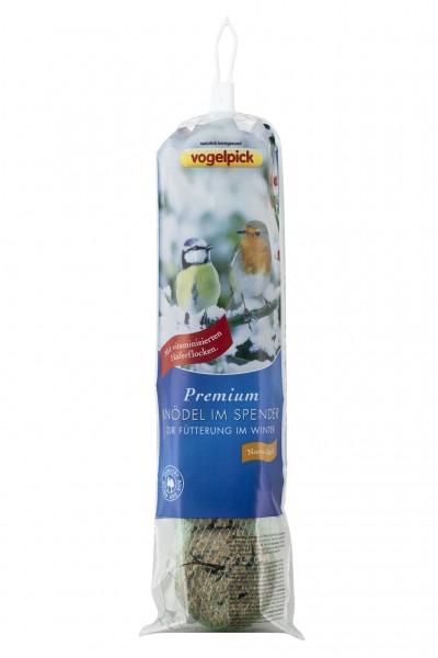 Vogelpick Premium Wildvogelknödel im Spender Nuss-Müsli 4er