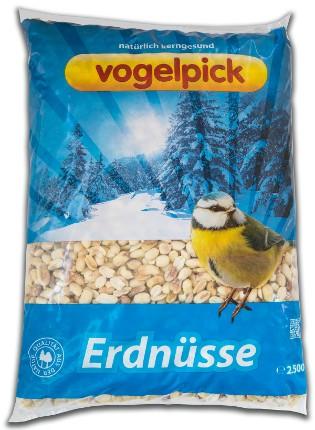 Vogelpick Erdnüsse 2,5 kg