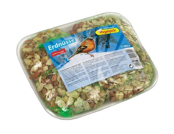 Erdnüsse als Vogelfutter von der Marke Vogelpick.