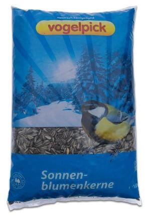 Sonnenblumenkerne als Wildvogelfutter kaufen im Onlineshop der Rahmer Mühle.