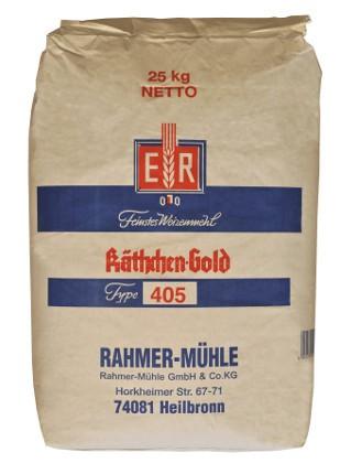 Weizenmehl Type 405 im Onlineshop der Rahmer Mühle.