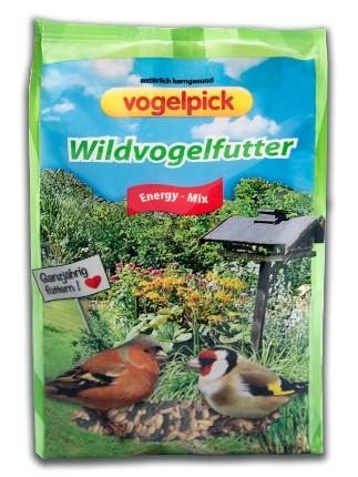 Wildvogelfutter: Energy-Mix online zu kaufen im Onlineshop der Rahmer Mühle.